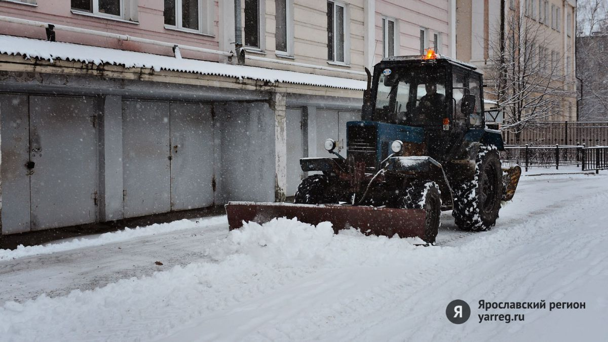 За выходные из Ярославля вывезли 4 тысячи кубов снега