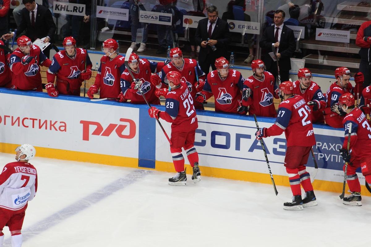 «Локомотив» сохранил шестую строчку в рейтинге клубов КХЛ