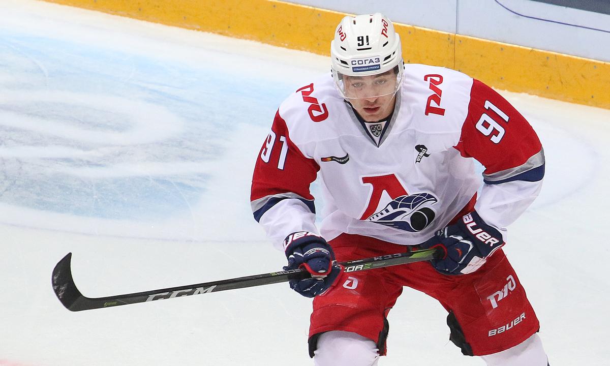 Игроки «Локомотива» помогли сборной России обыграть чехов на Шведских хоккейных играх