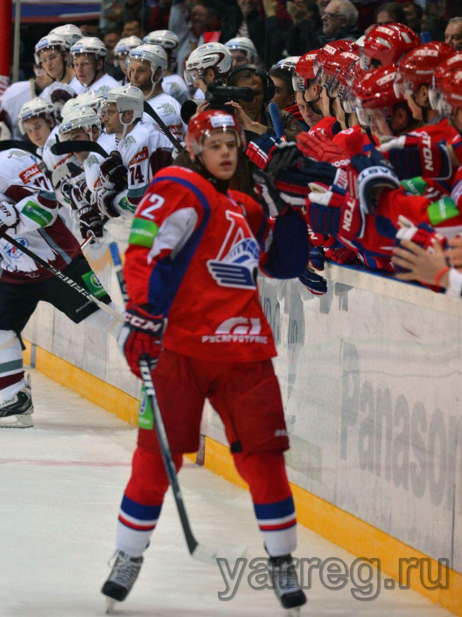 Сразу трех хоккеистов руководство «Локомотива» занесло в список травмированных