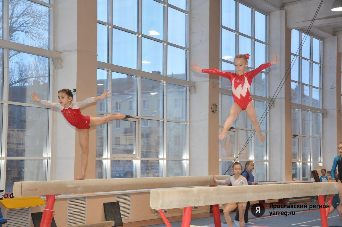Полторы сотни спортсменов из разных регионов приехали в Ярославль на соревнования по спортивной гимнастике