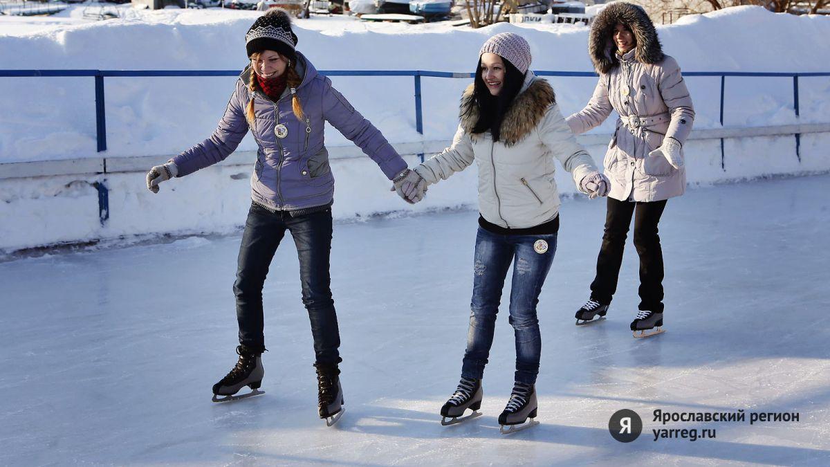 В Ярославле приступили к заливке льда на открытых катках