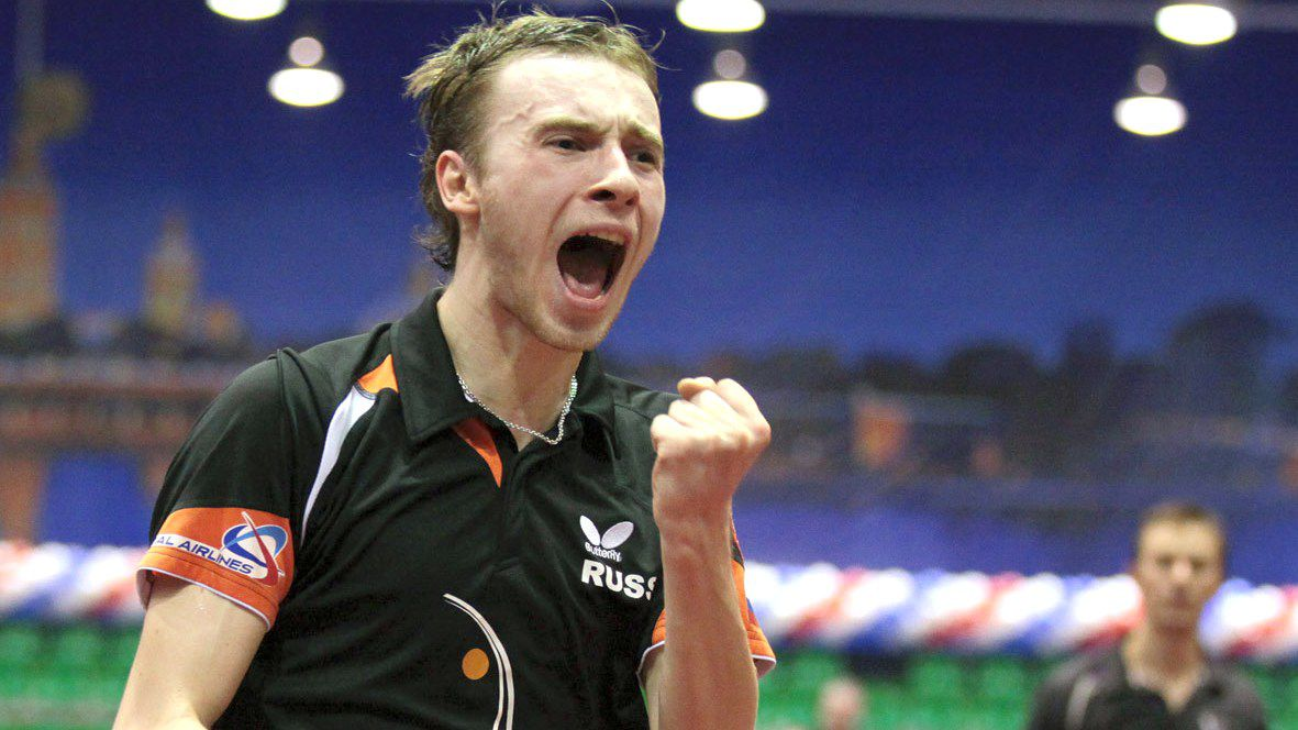 Ярославец выиграл чемпионат России по настольному теннису