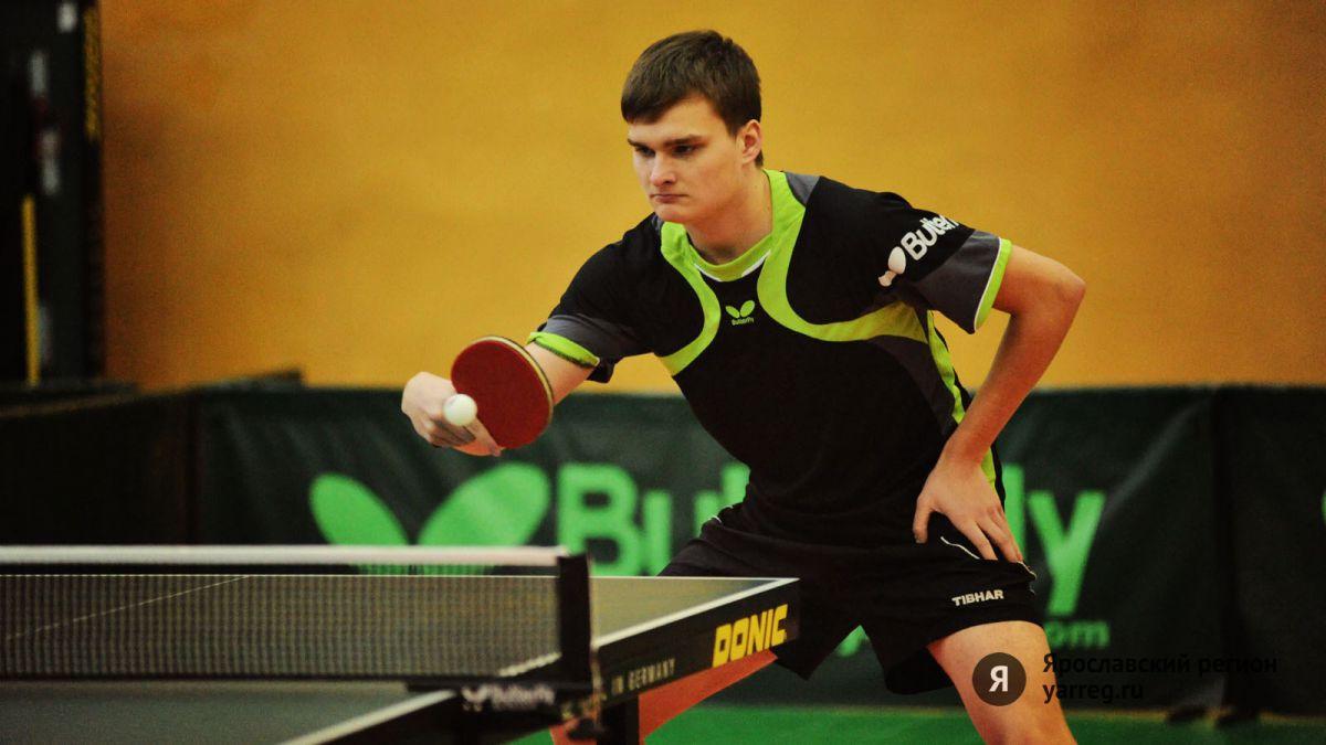 Ярославец Михаил Бредников завоевал медаль на турнире по настольному теннису
