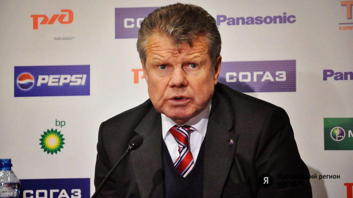 Бывшему тренеру «Локомотива» Петру Воробьеву исполнилось 70 лет