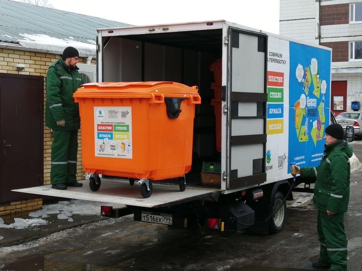 Более тысячи новых контейнерных площадок оборудуют в Ярославской области в 2020 году