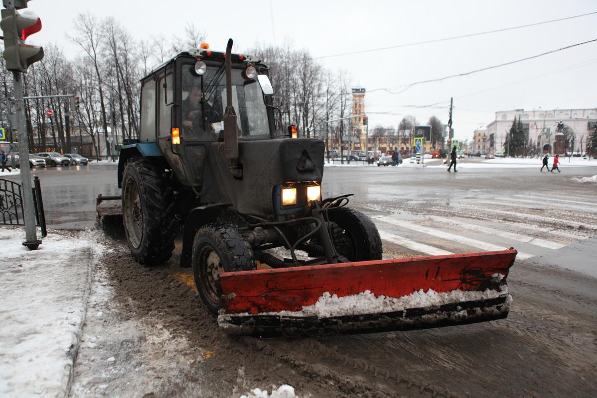 Снегоуборочную технику Ярославля оборудовали системой онлайн-мониторинга