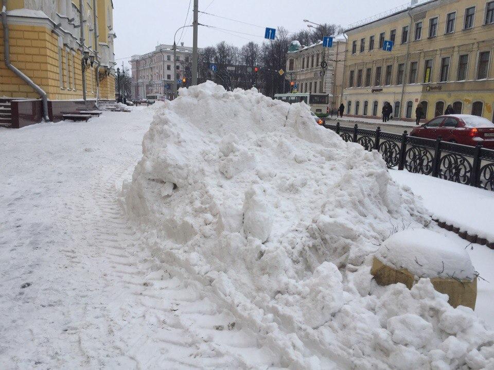 Власти рассказали, когда собираются купить для Ярославля снегоплавильную установку