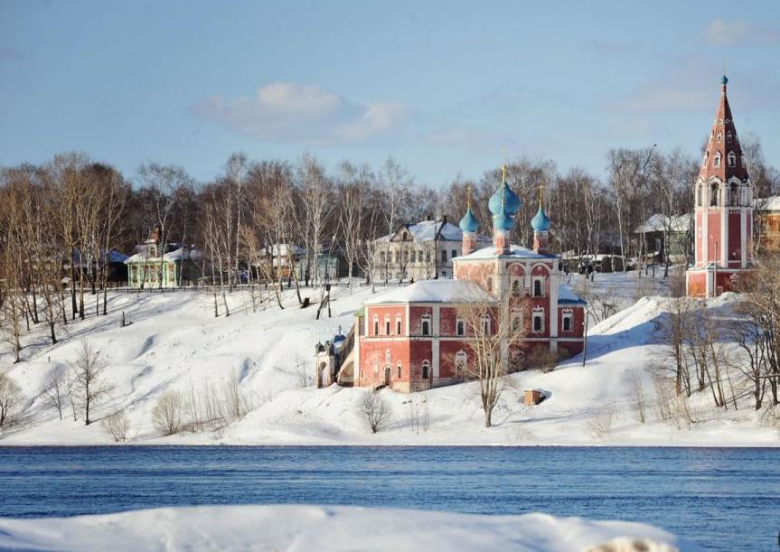 В Ярославской области готовится к открытию ледовая переправа