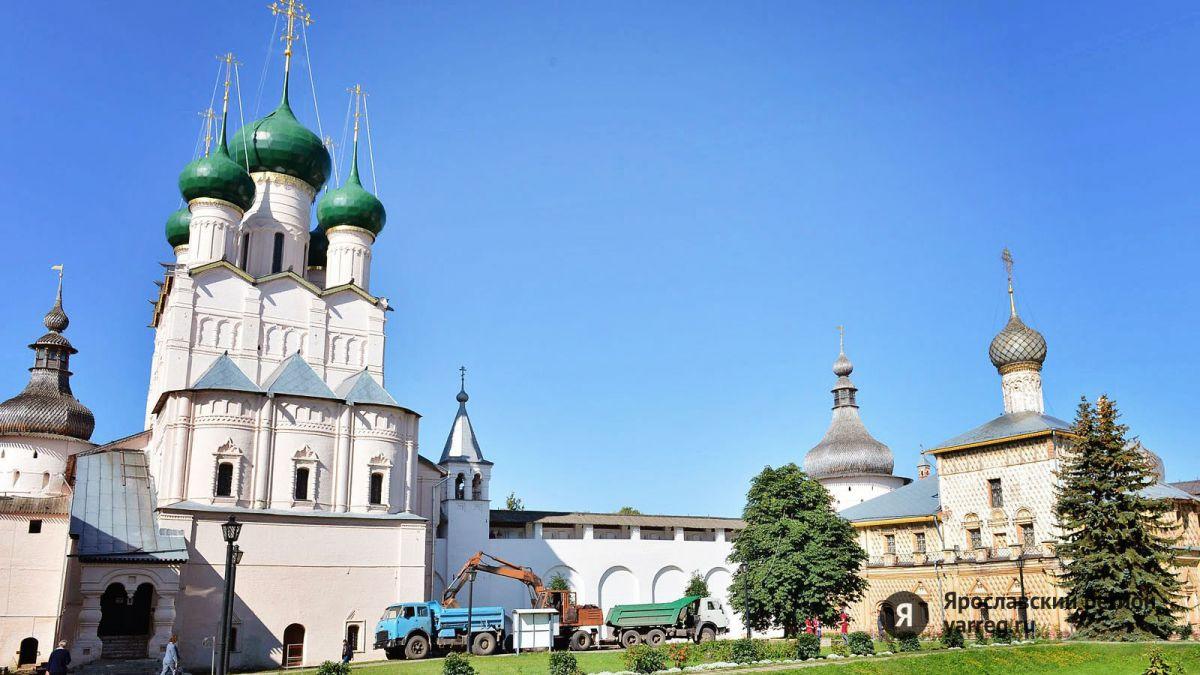 Ростовский кремль набрал более полутора миллионов голосов в конкурсе «Россия 10»