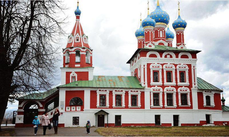 Владимир Путин назвал Углич первым городом в списке на включение в маршрут Золотое кольцо