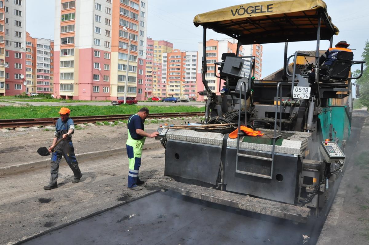 В Ярославле за неделю устранили 173 ямы на дорогах