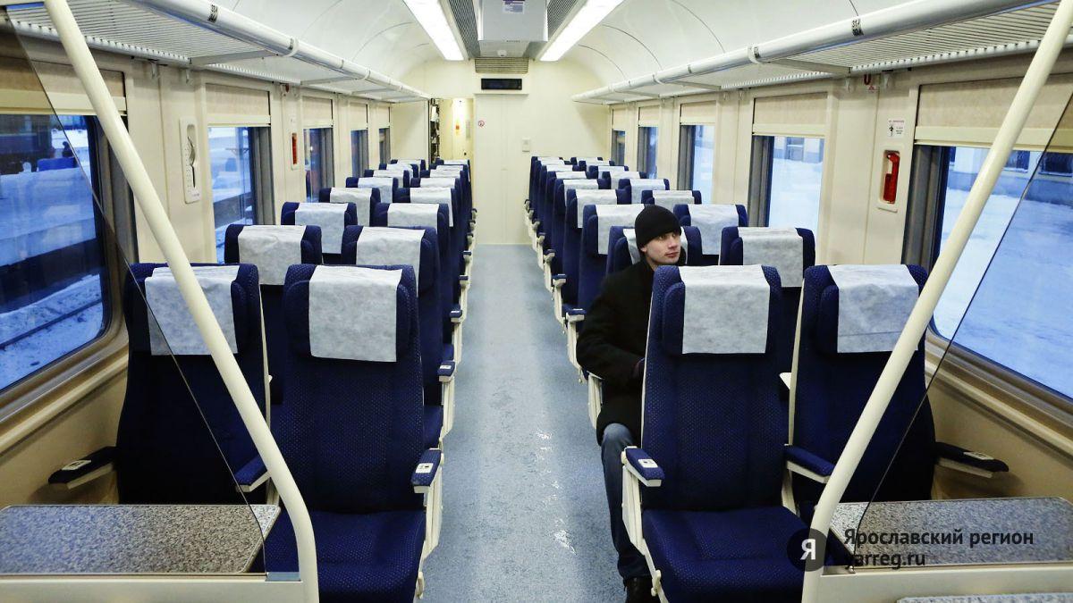 Между Ярославлем и Санкт-Петербургом пустят дополнительные поезда