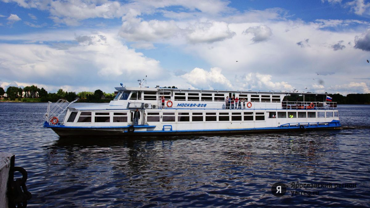 В Ярославле могут убрать речные трамвайчики до Толги