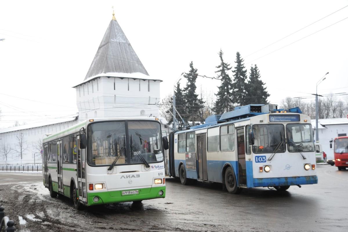 В Ярославле отменят троллейбус №6 и изменят маршруты нескольких автобусов