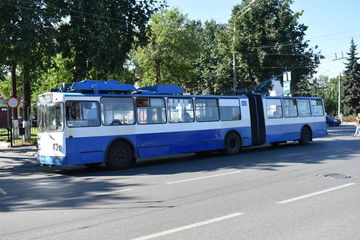 В Ярославле изменится расписание троллейбуса №6