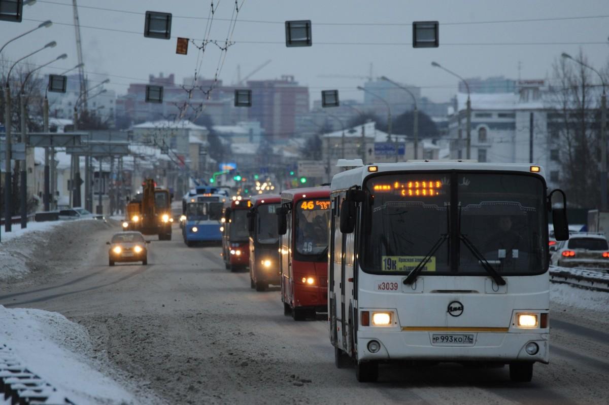 В Ярославской области ГИБДД просит жителей отказаться от личного транспорта