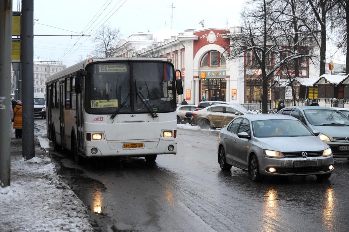 В Ярославле с начала года произошло 125 ДТП с участием общественного транспорта