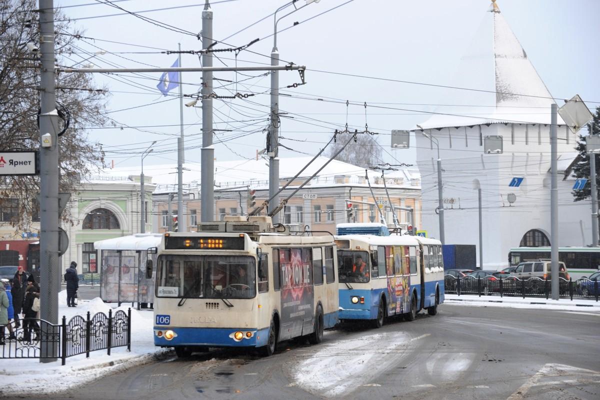 Появилось расписание транспорта в новогоднюю ночь в Ярославле