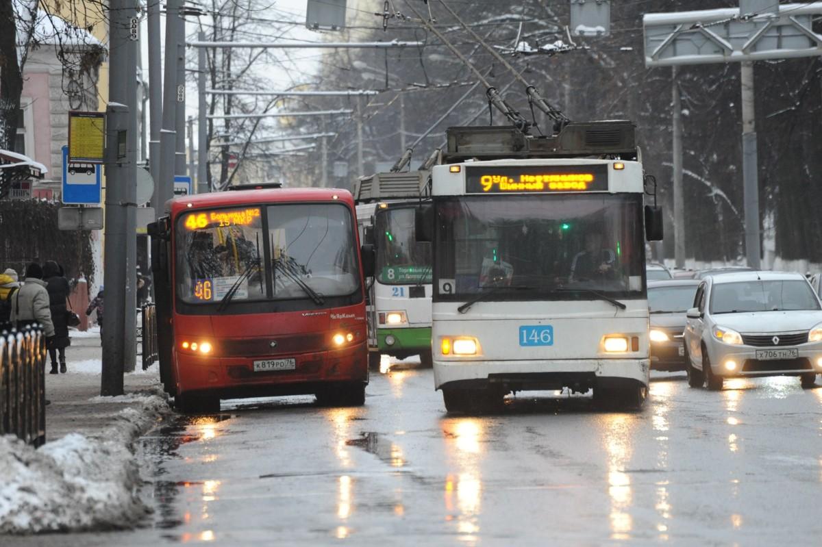 Стало известно, как будет работать транспорт в Ярославле в праздники