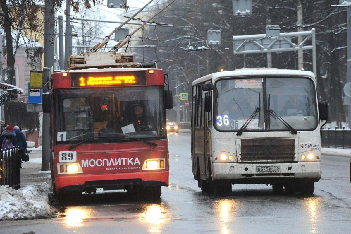 Ярославская маршрутка №38 будет заканчивать свои рейсы на два часа раньше
