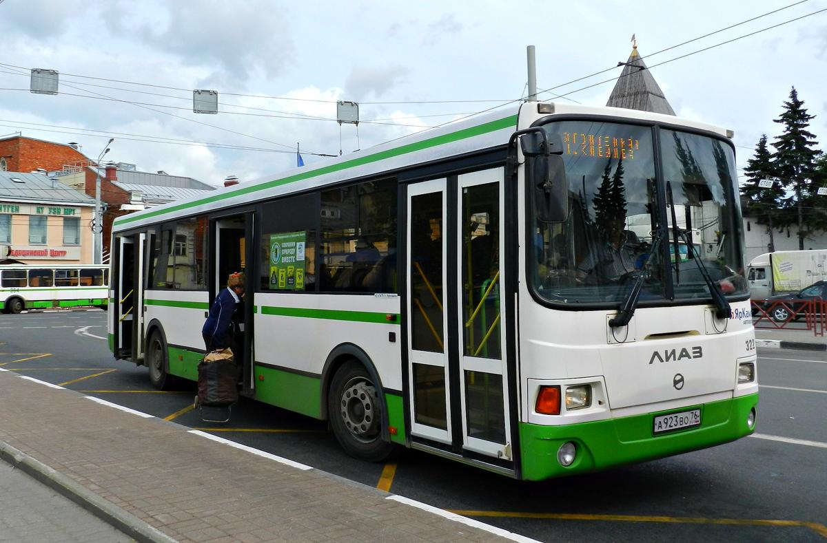 В Ярославле изменится расписание автобуса №6