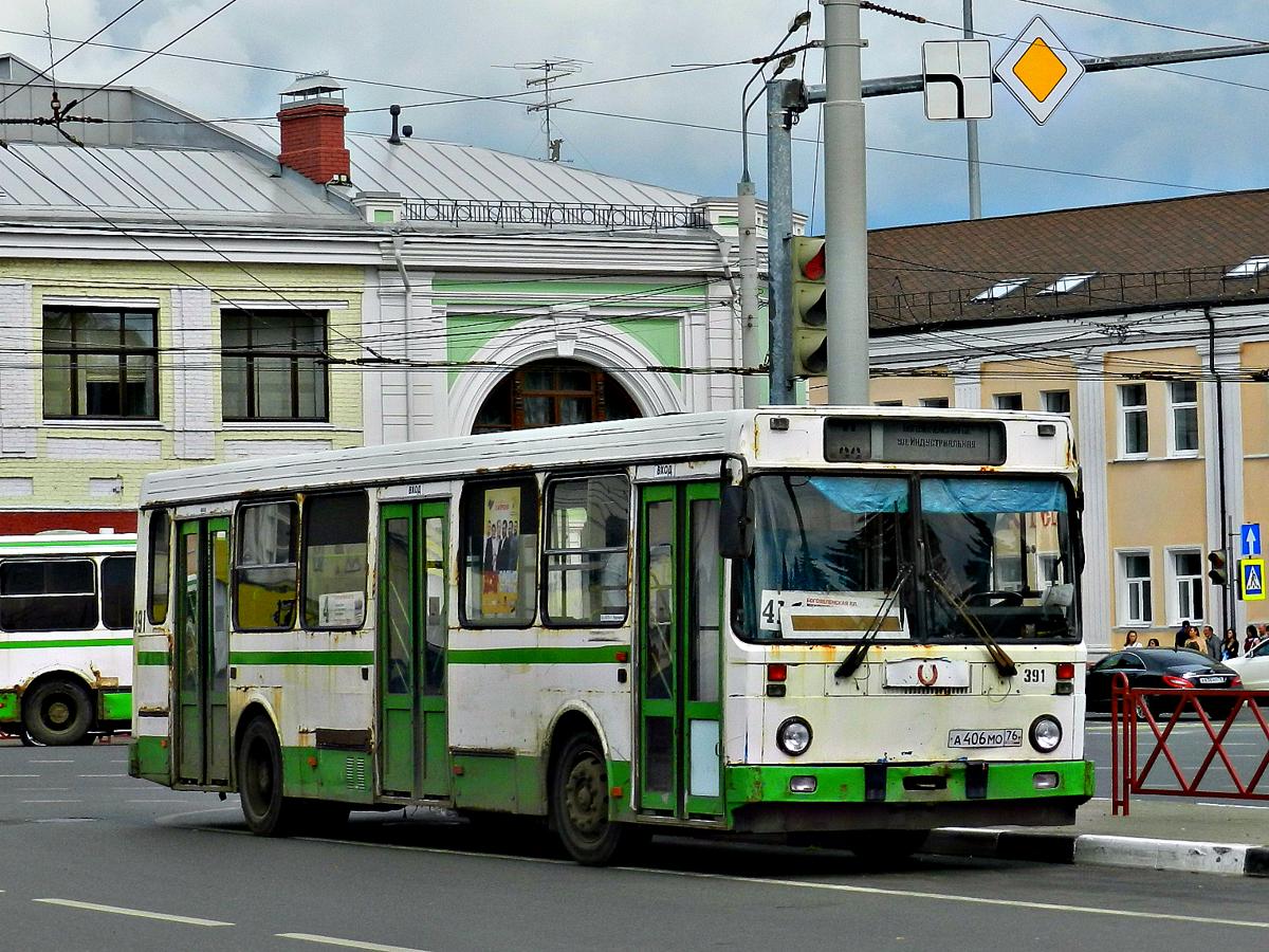 В Ярославле меняется схема движения одного из автобусов