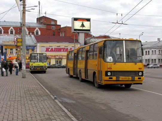 Общественный транспорт в Ярославле в новогоднюю ночь будет работать до утра