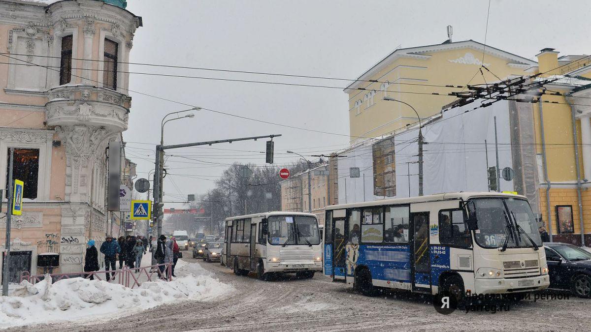 В Ярославле меняется расписание движения автобуса №34