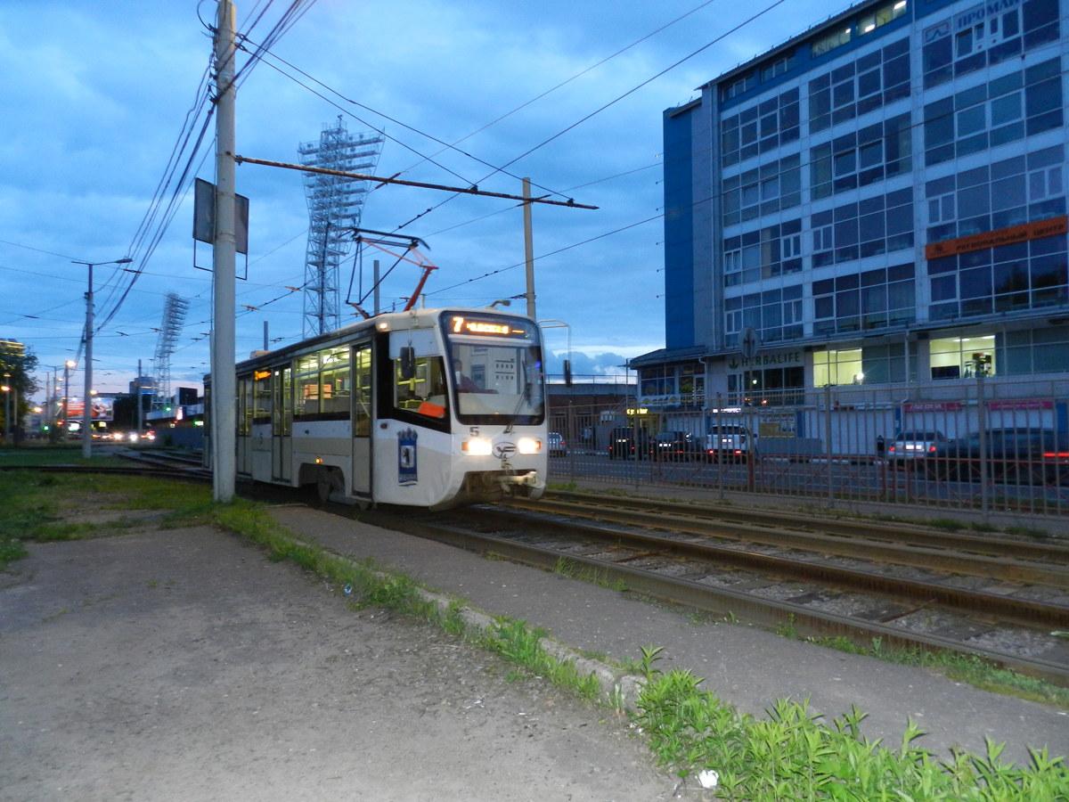 В Ярославле изменится движение трамваев