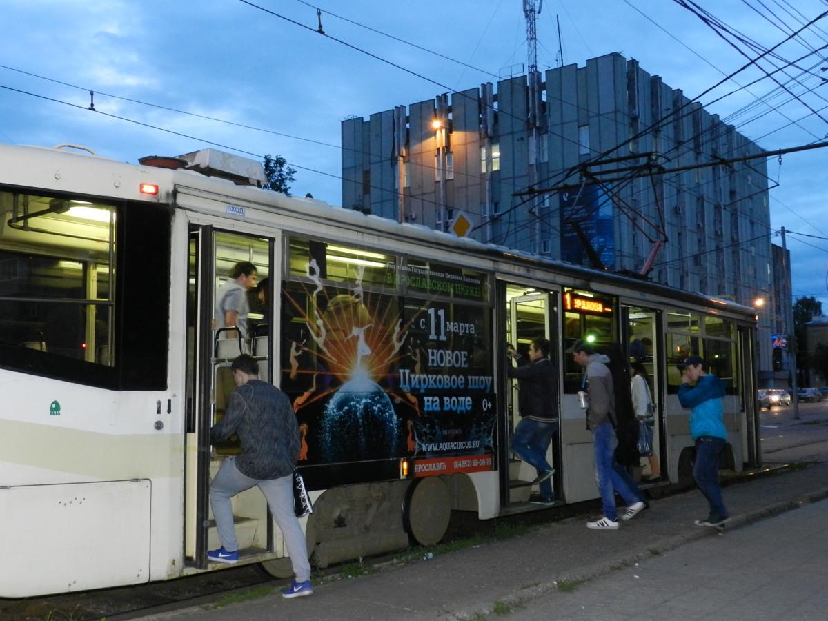 В Ярославле трамвайные пути могут продлить до Волковского театра