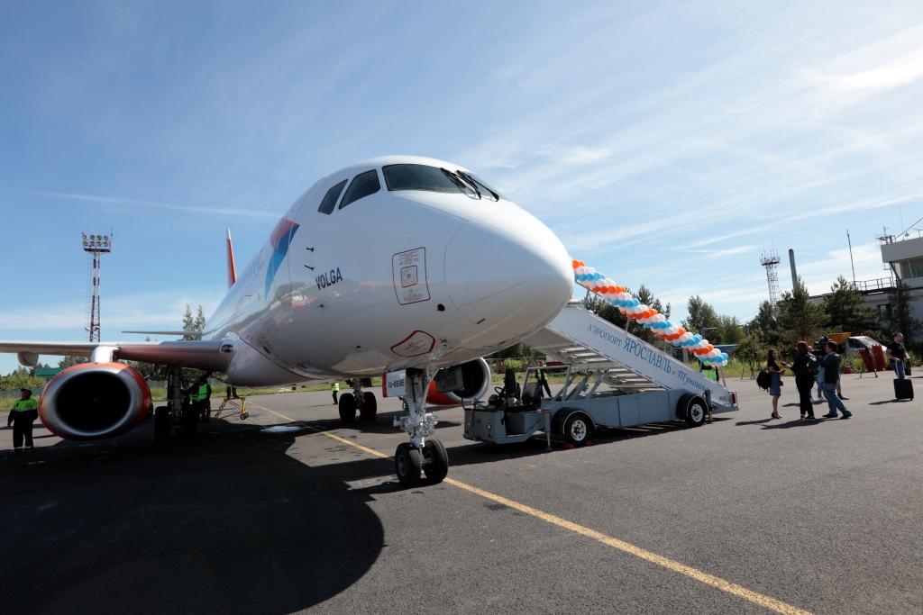 В августе из Туношны можно будет летать по 140 направлениям сети «Аэрофлота»