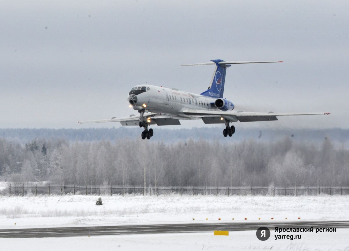 Возобновлены полеты по маршруту Ярославль – Казань