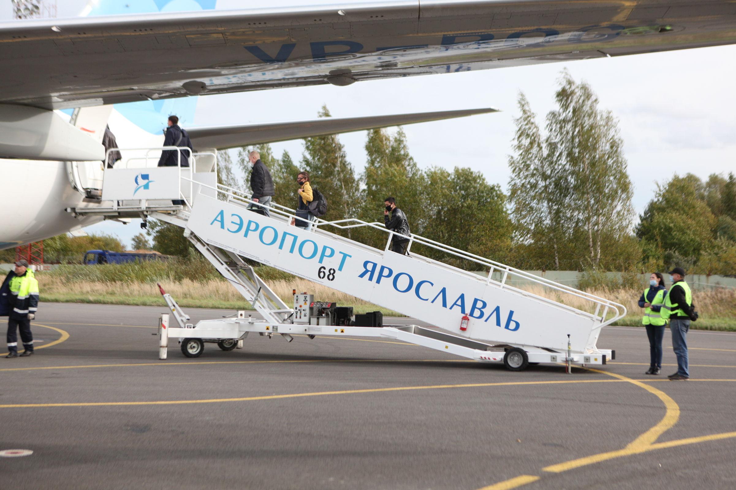Ярославский аэропорт перешел на весенне-летнее расписание