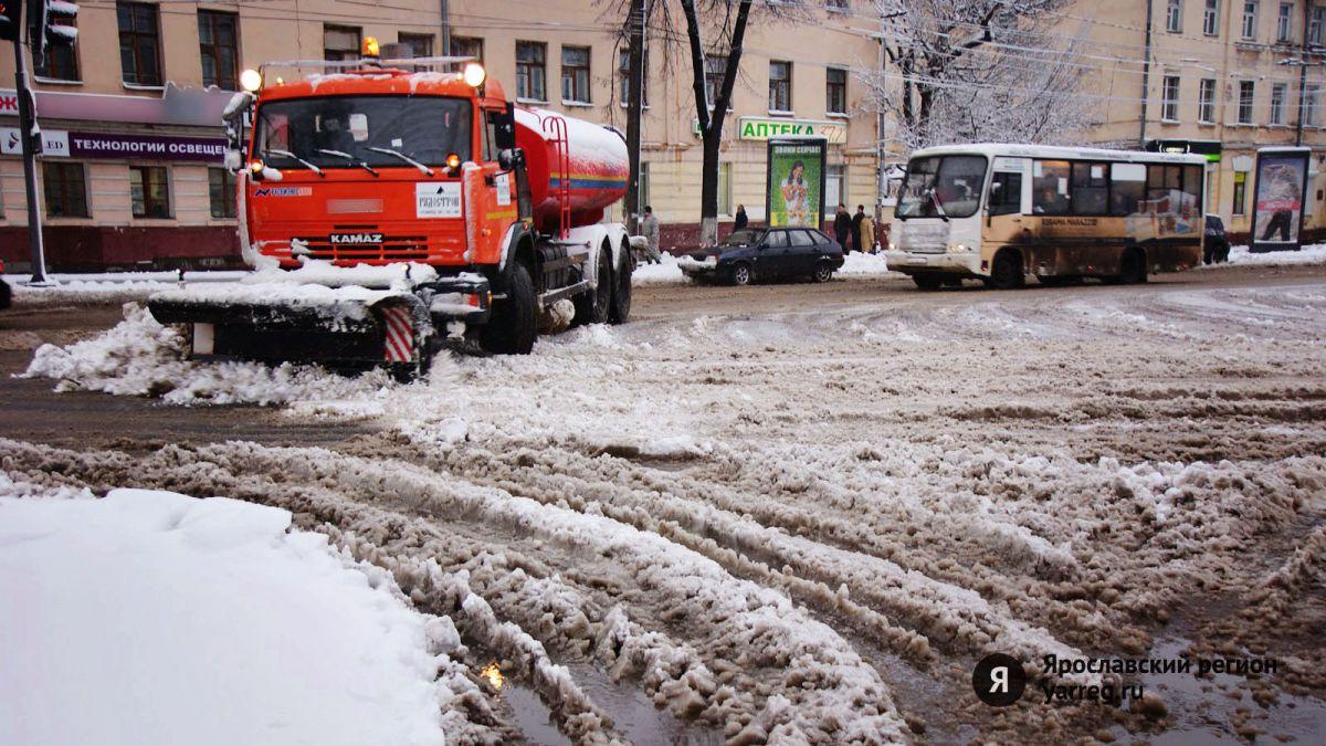 В мэрии Ярославля предложили усилить контроль за уборкой снега